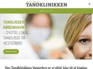 Tandlægeklinikken Vesterbrogade 11a - København V