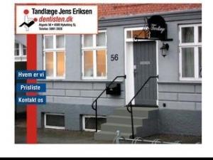Jens Eriksen. Tandlægeanpartsselskab - Frederiksberg