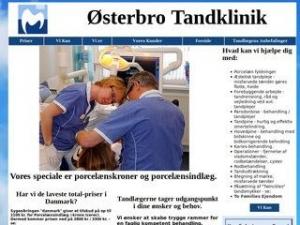Tandlæge Bent Schou-Jensen - København Ø