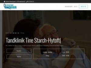 Tandlæge Tine Starch-Hytoft - København Ø