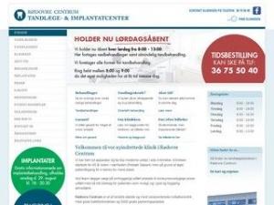 Rødovre Centrum Tandlæge- Og Implantat Center V/ Tandlæge Ulrik Juhl - Rødovre