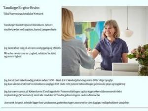Tandlæge Birgitte Bruhn - Lyngby