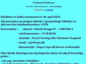 Tandlæge Kel Heilmann - Frederiksværk