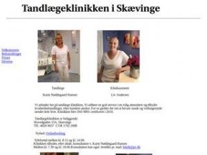 Tandlæge Karin Nøddegaard Hansen. Skævinge - Skævinge