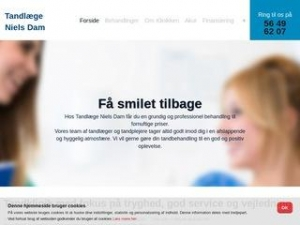 Tandlæge Niels Dam - Svaneke