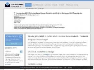 Tandlæge Anders Burgaard - Odense C