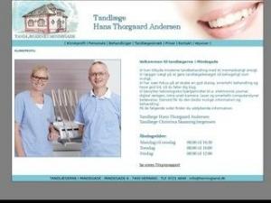 Tandlæge Hans Thorgaard Andersen - Herning