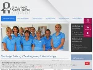 Tandlægerne Vesterbro 59 v/ Per Gaunø Jensen - Aalborg